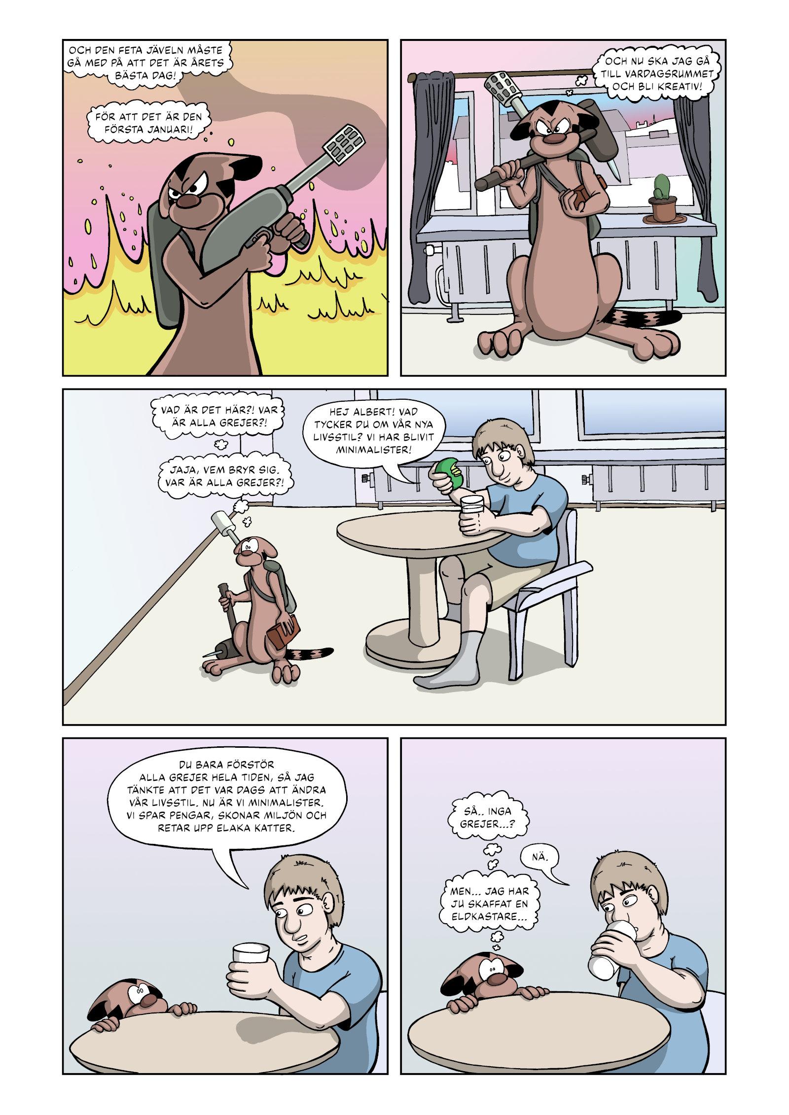 Rymdkatterna Anfaller – Sida 3